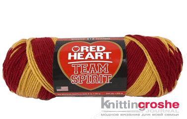 пряжа red heart team spirit