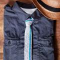 как связать галстук спицами