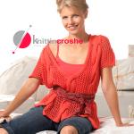 вязание спицами летние накидки для женщин